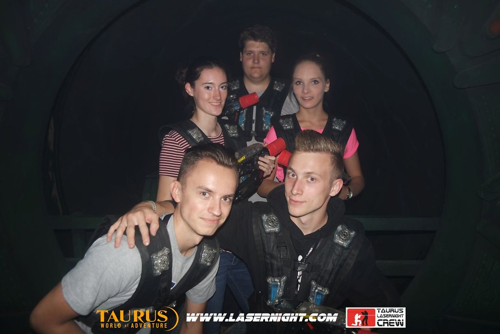 Lasernight Freitag 12.08.2016